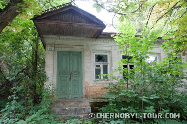 Заброшенный старинный дом в г. Чернобыль